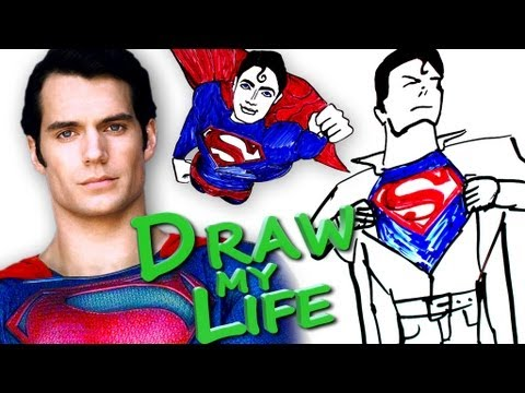 DRAW MY LIFE - Superman Man of Steel