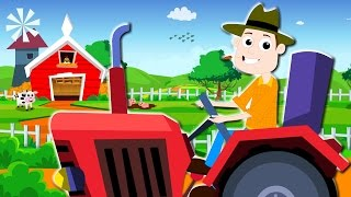 Farmer In The Dell | Nursery Rhymes For Children | Kids TV Baby Videos