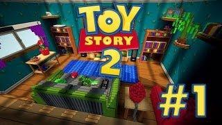 getlinkyoutube.com-Toy Story: MINECRAFT - Mapa de Aventuras Con Mi Hermana - Episodio 1