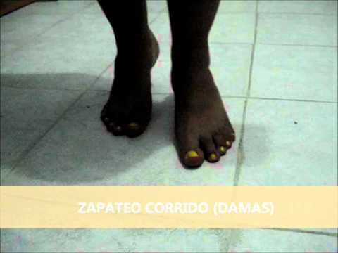 pasos basicos folklore, Panama