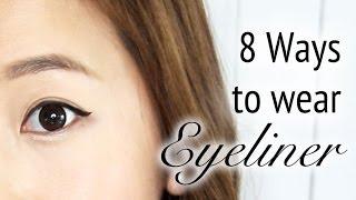 getlinkyoutube.com-8 Ways to wear Eyeliner