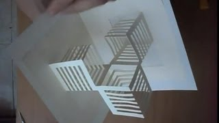 getlinkyoutube.com-14 How To Make An Amazing Cubes Pop Up Card, Origamic Architecture