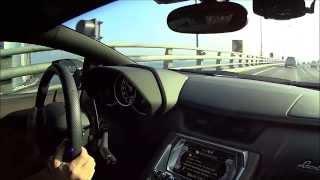 getlinkyoutube.com-람보르기니 아벤타도르 사운드테스트 Lamborghini Aventador sound test
