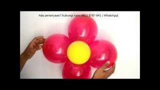 getlinkyoutube.com-Cara Membuat  Balon Bunga Super Mudah