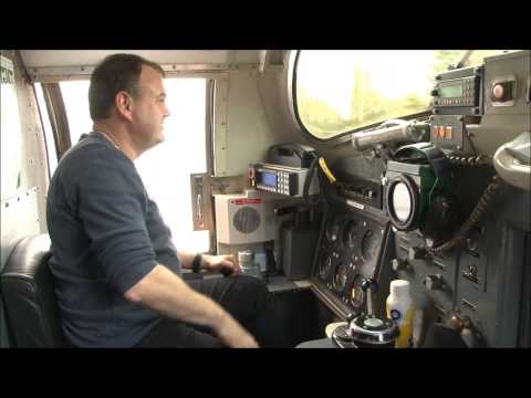 DELTIC 22 Cab Ride in the snow E.L.R. 26/1/13. Part 2 Bury to Ramy. LOCO TV UK