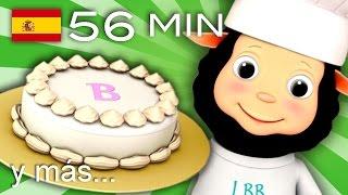 getlinkyoutube.com-Tortas, tortitas | Y muchas más canciones infantiles | ¡56 min de LittleBabyBum!