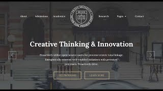 How to create an Education Website without the help of a Web Designer - Unisco