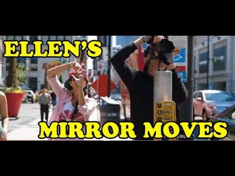 Ellen's Mirror Moves! - Superwoman