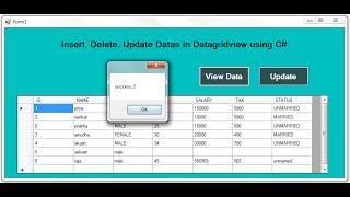 getlinkyoutube.com-Dynamically Insert, Update, Delete Datas in DATAGRIDVIEW in DOT NET