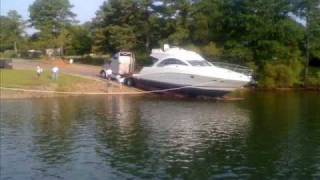 getlinkyoutube.com-Sea Ray 50' Sport Yacht on Allatoona Lake