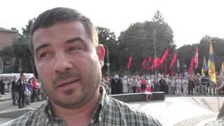 getlinkyoutube.com-Полтава 23.08.2015 Марко Чаус вітае