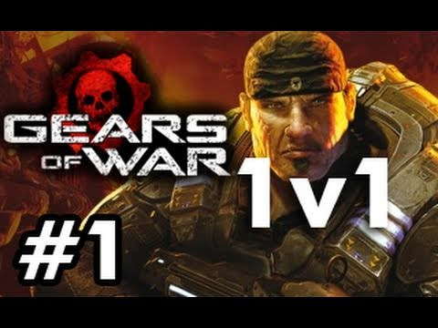 Gears of War: Fail 1v1 with Chilled Chaos and Ze Royal Viking Part 1(Live Commentary)