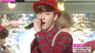 getlinkyoutube.com-[HOT] EXO - Christmas day, 엑소 - 크리스마스데이, Show Music core 20131221