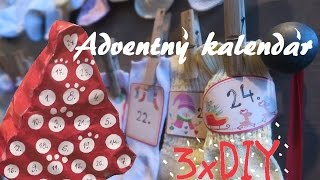 getlinkyoutube.com-DIY 3 x adventný kalendár / Kvietková