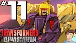 getlinkyoutube.com-Transformers Devastation Gameplay Walkthrough - PART 11 - Blitzwing Boss Fight!!!