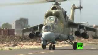 getlinkyoutube.com-مشاهد لقدرات الدبابة الطائرة على الأراضي السورية