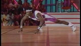 getlinkyoutube.com-The 1987 Crystal Light National Aerobic Championship, singles competition, Kim Wells