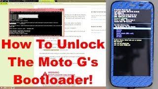 getlinkyoutube.com-How To Unlock The Motorola G (Moto G) Bootloader!