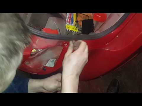 КАК снять задний бампер и фары на MAZDA 3 2006 г