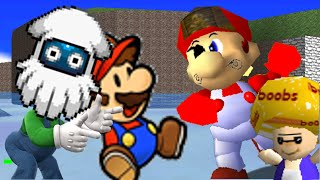 getlinkyoutube.com-SM64 Bloopers: The Pirate Plumbers