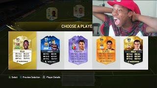 getlinkyoutube.com-FIFA 16 BEST RAINBOW FUT DRAFT EVER !!!