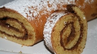 getlinkyoutube.com-Roulé au nutella