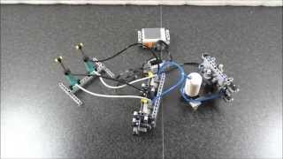 Lego electric valve R/C