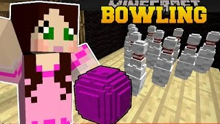 getlinkyoutube.com-Minecraft: BOWLING CHALLENGE (WHO WILL GET THE HIGHEST SCORE?) Mini-Game