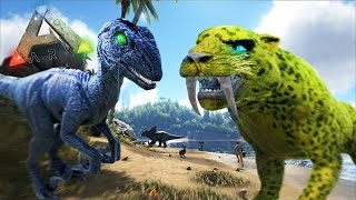 getlinkyoutube.com-DINOSAURIOS EXTRAÑOS - ARK survival Evolved #35 - Nexxuz