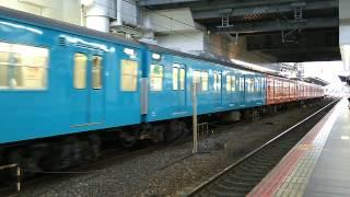 getlinkyoutube.com-103系混色臨時列車   大阪駅発車