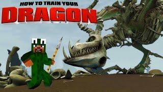 Minecraft - HOW TO TRAIN YOUR DRAGON 2 - [6] 'Boneknapper Island?'