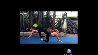 getlinkyoutube.com-Dance Acro sequence to Jessie J's Masterpiece!