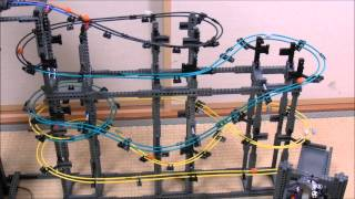 getlinkyoutube.com-LEGO GBC Marble Run