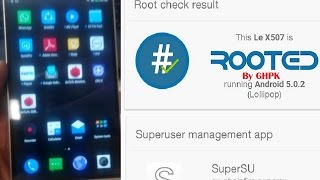 getlinkyoutube.com-Rooting LeTv Le1S Indian 507 Silver Version, Rooted out of the box using ADB