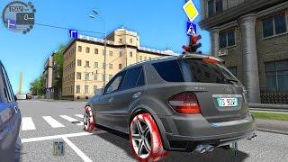 getlinkyoutube.com-City Car Driving 1.5.0 Mercedes Benz ML63 AMG TrackIR Pro 4 [1080P]