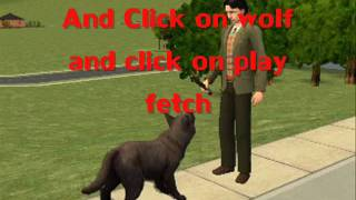 getlinkyoutube.com-How To Make Your Sims Become A WereWolf And Cure It FULL Tutorial HD