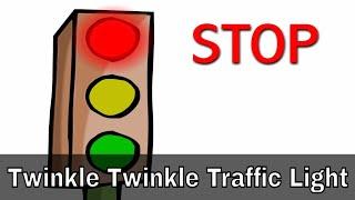 getlinkyoutube.com-Twinkle Twinkle Traffic Light - English Nursery Rhymes - Cartoon/Animated Rhymes For Kids