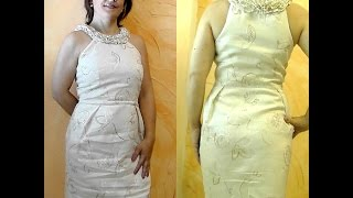 getlinkyoutube.com-DIY:VESTIDO DE LINO (1ªPARTE)