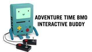getlinkyoutube.com-Adventure Time BMO Interactive Buddy from ThinkGeek