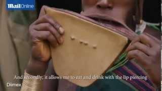 إثيوبية صاحبة أكبر فم في العالم !!