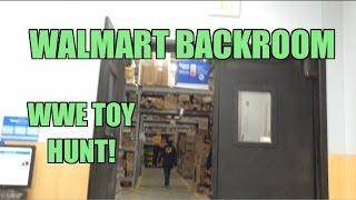getlinkyoutube.com-WWE ACTION INSIDER: Backroom Walmart Wrestling figure HUNT! Mattel Elites Store Shopping