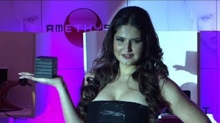 getlinkyoutube.com-Hot Zarine Khan Launches New Line Of Electronics