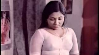 getlinkyoutube.com-SARITHA ACTRESS IN WET WHITE MALLU  BLOUSE