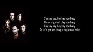 Maroon 5 -  What Lovers Do (Lyrics) ft  SZA