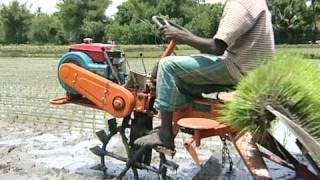 getlinkyoutube.com-VST - Shakti Yanji Rice Transplanter