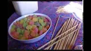 getlinkyoutube.com-Como fazer árvore de jujuba para decorar festas
