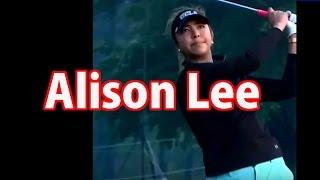 getlinkyoutube.com-PGA女子アリソン・リーの腰の切れが素晴らしいスイング ラウンド
