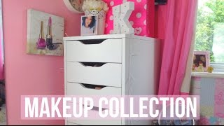 getlinkyoutube.com-Makeup Collection & Storage | Floral Beauty