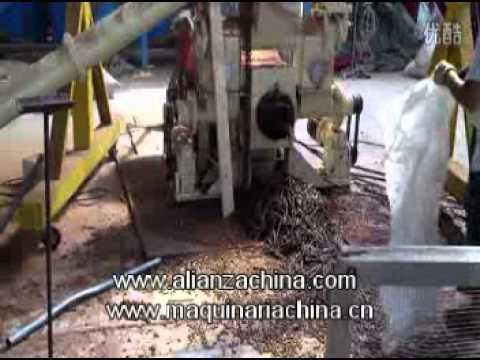 Maquina Peletizadora para fabricacion de aserrin y briqueta