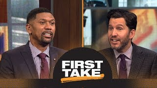 Jalen shuts down Will saying Kevin Durant will surpass LeBron James this season | First Take | ESPN
